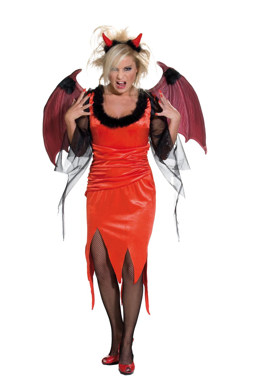 33468bd564ed Karnevalový kostým Čert šaty