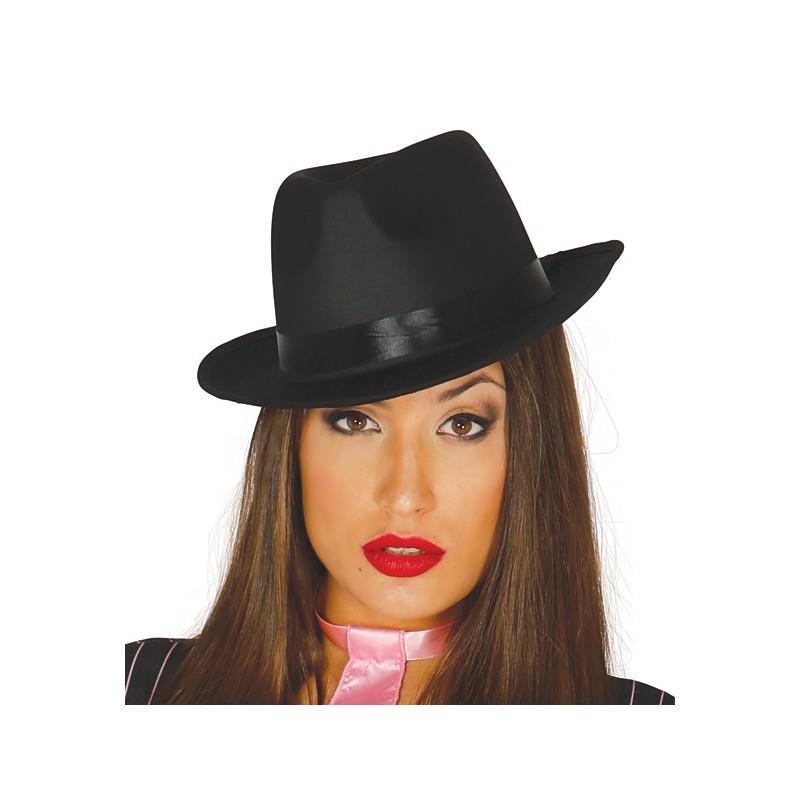 Borsalino - gangsterský klobouk černý 3003a4ec2b