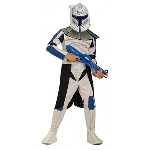 Clone Wars - Blue Clonetrooper velikost 3-4 roky