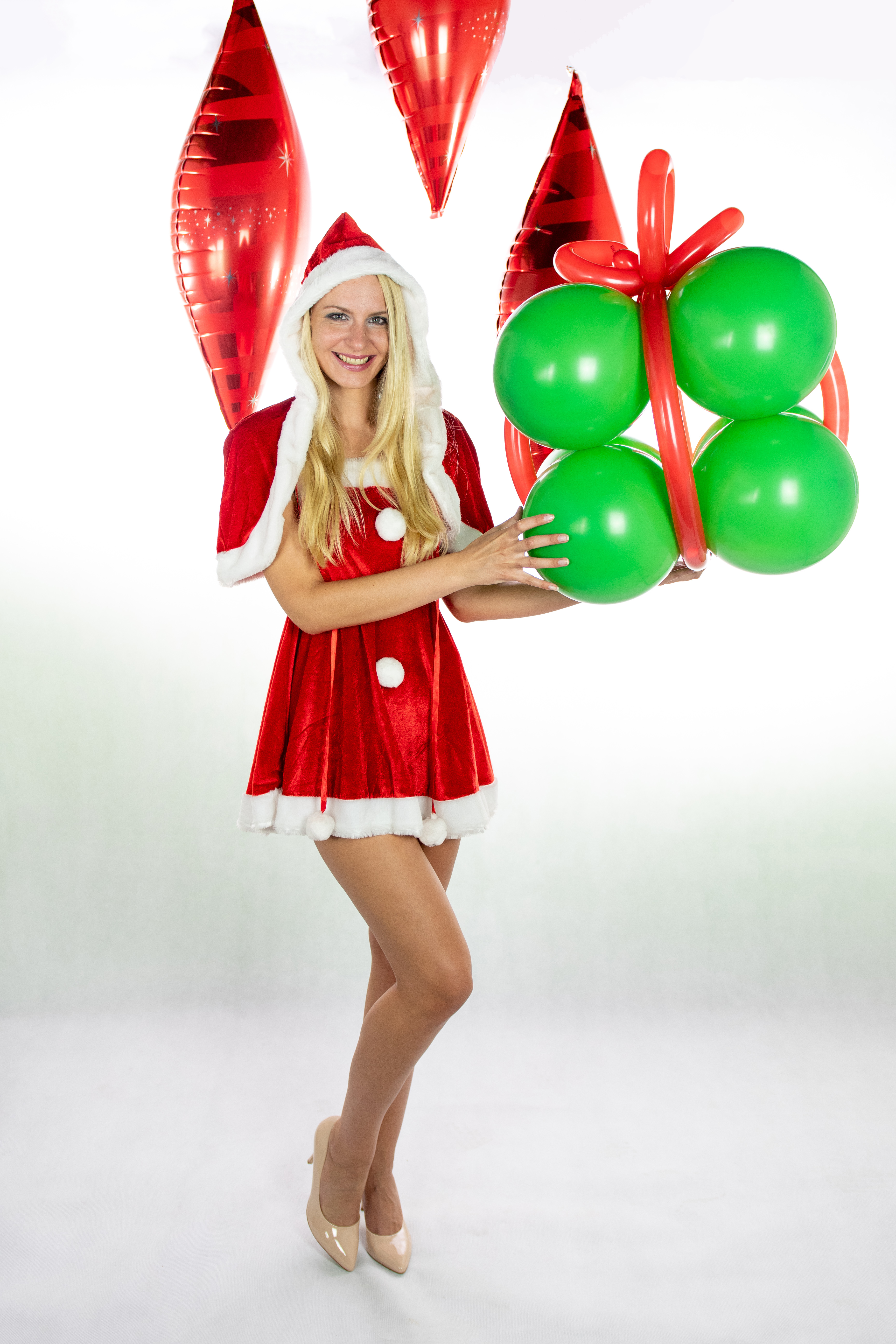 2edfbc2e5728 Kostým Santa žena