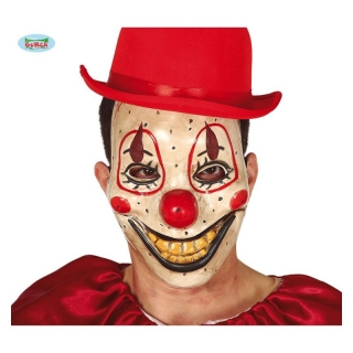 CLOWN MASK - PVC maska